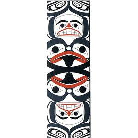 本 しおり ブックマーク カナダ 先住民 ネイティブ インディアン デザイン [ Frog Human Drum ]