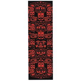 本 しおり ブックマーク カナダ 先住民 ネイティブ インディアン デザイン [ CHILKAT WHALE シャチ ]
