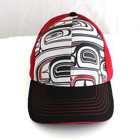 帽子 ストレッチフィット キャップ CAP カナダ 先住民 インディアン デザイナーズ 57-59cm Spirit Quest