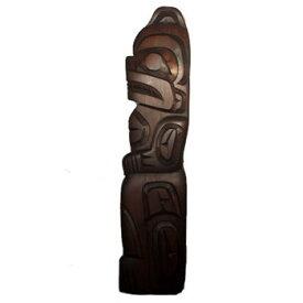 カービング タペストリ 木彫刻 アート 壁掛 カナダ 先住民 ネイティブ インディアン [ BEAR 熊 ] SQUAMISH スクアミッシュ族 RICHARD KRAWCHUK  送料無料