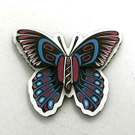 飛び出す 3D マグネット カナダ 先住民 ネイティブ インディアン 雑貨 [ BUTTERFLY 蝶 ]