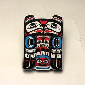 飛び出す 3D マグネット カナダ 先住民 ネイティブ インディアン 雑貨 [ EAGLE 鷲 ]