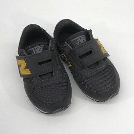 ニューバランス NEW BALANCE IV220 HKGマジックテープ ベビー 年小 保育園児ブラック/ゴールド