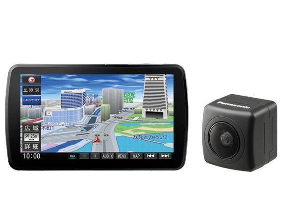 パナソニックCN-F1XVD+CY-RC90KDストラーダ9V型DYNABIGスイングディスプレイ搭載SDナビ+バックカメラセット