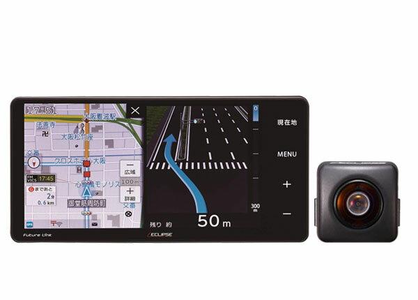 イクリプスAVN-R9Wフルセグ地デジ/200mmワイド7型WVGA液晶/Bluetooth/Wi-Fi搭載メモリーナビ地図更新無料+バックカメラBEC113セット