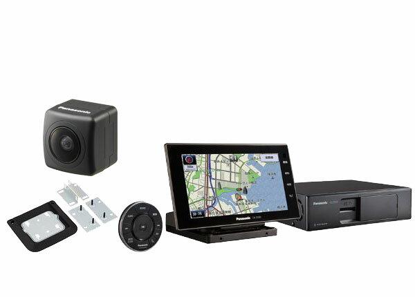 パナソニック7型SDナビCN-Z500D+標準取付キットCA-FUK100D+バックカメラCY-RC90KDセット