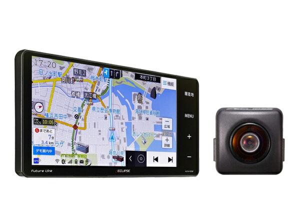 イクリプス7型200mmワイド地デジSDナビAVN-R8W+バックカメラBEC113セット