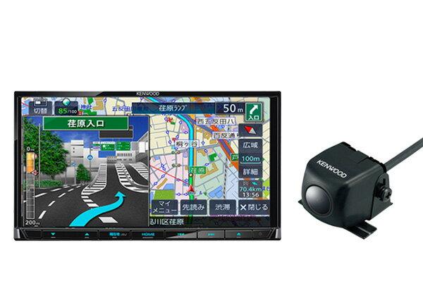 ケンウッド7型ワンセグ内蔵彩速ナビMDV-D305+バックカメラCMOS-230セット