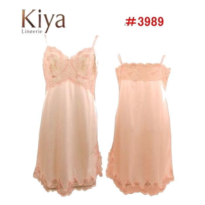 【Kiya】キヤ スリップ #3989 M,Lサイズ  【送料無料】【ポイント10倍】