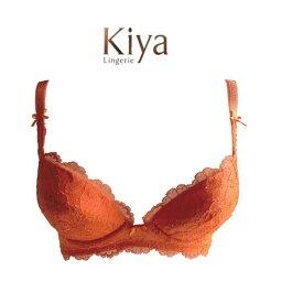 【Kiya】キヤ 3/4カップ補正ブラ #3980 B-Dカップ 【送料無料】【ポイント5倍】
