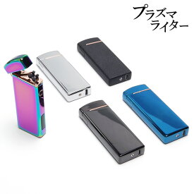 【メール便/送料無料】プラズマライター usbライター USB アークライター オイル・ガス不要 充電式ライター プラズマ放電 男性 プレゼント プラズマライター ギフト USB充電式