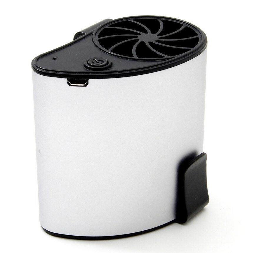 腰 ベルト ファン ポータブル ファン 小型 クリップ 送風 扇風機 夏 風量調節 USB 充電 持たない 工場 アウトドア キャンプ 釣り 空調服