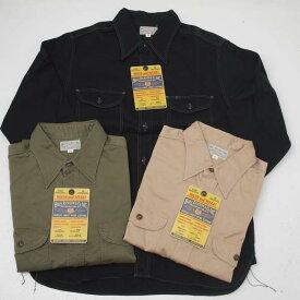 【送料無料】Buzz Ricksons バズリクソンズ BR26081 ヘリンボーン長袖ワークシャツ