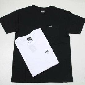 Schott ショット 3193083 ポケットT スモール刺繍ロゴ 半袖Tシャツ