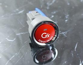 カムリ(40系)ACV40、ACV45(H18.01〜)用トヨタ純正 G's プッシュ スタート スイッチ(レッド)プッシュスタートスイッチ/エンジンスターターボタン/プッシュスタートスイッチ/プッシュエンジンスイッチ02P05Nov16