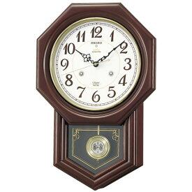 報時振り子時計  セイコーSEIKO電波振り子時計 RQ205B セイコー掛け時計  【楽ギフ_包装】【楽ギフ_のし】【楽ギフ_のし宛書】【楽ギフ_メッセ入力】【楽ギフ_名入れ】