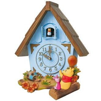 Cuckoo clock cuckoo clocks cuckoo clocks Winnie Pooh's clock Disney time FW573L Seiko SEIKO wall clock