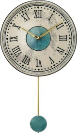 アントニオ・ザッカレラ陶器振り子時計ZC121-003 掛け時計 名入れ ANTONIO ZACCARELLA【楽ギフ_包装】【楽ギフ_のし】【楽ギフ_のし宛書】【楽ギフ_メッセ入力】