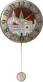 アントニオ・ザッカレラ陶器振り子時計ZC900-001 掛け時計 名入れ ANTONIO ZACCARELLA【楽ギフ_包装】【楽ギフ_のし】【楽ギフ_のし宛書】【楽ギフ_メッセ入力】