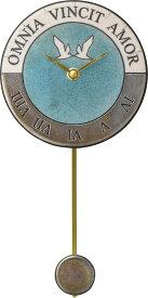 アントニオ・ザッカレラ陶器振り子時計ZC916-0043 掛け時計 名入れ ANTONIO ZACCARELLA【楽ギフ_包装】【楽ギフ_のし】【楽ギフ_のし宛書】【楽ギフ_メッセ入力】