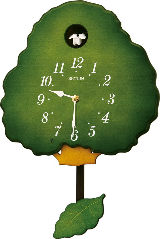 鳩時計 カッコー時計 カッコークロック グレイスカッコー413R  4MJ413RH05 名入れ リズム時計 カッコー掛け時計 はと時計 【楽ギフ_包装】【楽ギフ_のし】【楽ギフ_のし宛書】【楽ギフ_メッセ入力】【楽ギフ_名入れ】