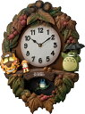 鳩時計 ととろの振り子時計 トトロM429 4MJ429-M06 名入れ ハト時計 リズム時計【楽ギフ_包装】【楽ギフ_のし】【楽ギフ_のし宛書】【楽ギフ_メッ...