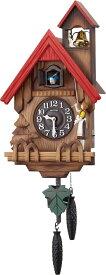 鳩時計 カッコーチロリアンR 4MJ732RH06 ハト時計 リズム時計 カッコー時計 カッコークロック 名入れ はと時計 振り子時計