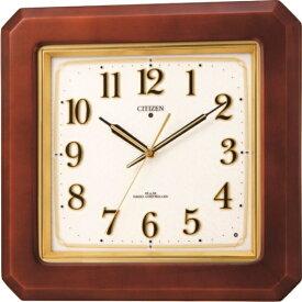 シチズン掛け時計 シチズン電波掛け時計 ピュアライト ネムリーナピュアM493F 4MN493-N06