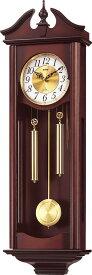 報時付きリズム振り子時計 キャロラインR 4MJ742RH06 リズム時計 CITIZEN振り子時計