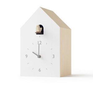 鳩時計 カッコークロック  はと時計 ハト時計 Lemnos レムノス cuckoo-collection bookend ブックエンド NL19-01【送料無料】開業祝い 誕生日 記念日 記念 新築お祝い 結婚お祝い 内祝い
