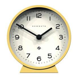 NEW GATE ニューゲート デスククロック 置時計 M Mantel Clock - Cheeky Yellow MMCDC-CY