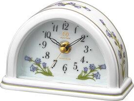 愛しいほどに美しい有田焼きの置時計! RHG-S77 8RG624HG12 磁器置時計 リズム時計 【楽ギフ_包装】【楽ギフ_のし】【楽ギフ_のし宛書】【楽ギフ_メッセ入力】【楽ギフ_名入れ】