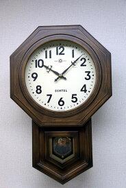 さんてる ボンボン報時付き だるま振り子時計 SQ02A サンテル 日本製
