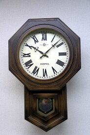 さんてる ボンボン報時付き だるま振り子時計 SQ02R サンテル 日本製