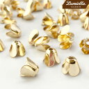 【リュミエラ】100個セット【ベル型 ビーズキャップ3】座金 ビーズキャップ ビーズ レジン
