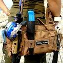 自転車バッグ・釣りバッグ フィッシングバッグ ルアーエギング  全3色 レディース/メンズ 4WAY ウエストバッグ ショルダーバッグ【メール便利用不可】