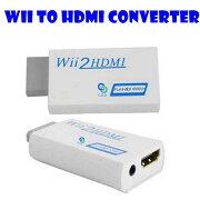 WiitoHDMIコンバーターHDMI変換アダプタWiiをHDMI接続に変換!WiiTOHDMICONVERTERBOXアップコンバーター480p【ゆうパケット対応】