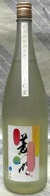 菱湖 純米吟醸生酒 JUICEジュース 720ml 【新潟県新潟市 峰乃白梅酒造】