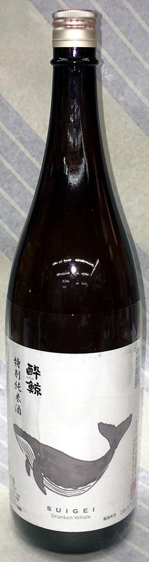 酔鯨 特別純米酒 1.8L【坂本竜馬ゆかりの土佐・高知県の名酒!辛口が好きなら是非!】