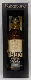 マクダフ 1997 20年 ゴールド 54.9% 700ml【キングスバリー】