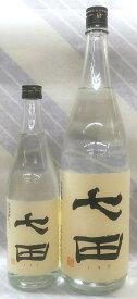七田 吟醸酒粕焼酎 25度 1.8L【日本酒蔵の焼酎】