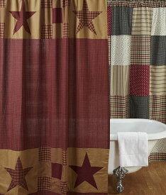 パッチワークカーテン 間仕切りカーテンとして最適 ナインパッチスター
