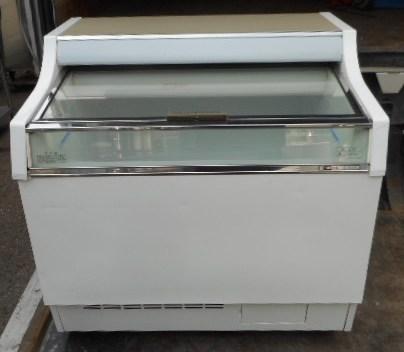 07年製 サンデン 冷凍 ショーケース GSR-900XB W900D727H886mm 157L アイス 冷凍庫【中古】