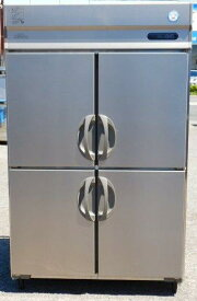 2015年製 フクシマ URD-120RM6-F 4ドア 縦型 冷蔵庫 1090L W120D80H195cm 100V 130kg ワイドスルー(西濃営業所止め)【中古】