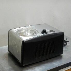 2010年製 タイジ ジェラート アイス マシン TGM-800N アイス マシーン W402D281H245mm ボウル1.4L 100V 150W 動作確認済【中古】【店頭受取対応商品】