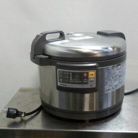 【中古】2010年製 パナソニック 業務用 IH ジャー 炊飯器 SR-PGB54P 3升 単相200V W502D429H300mm 重量16.2kg 傷あり