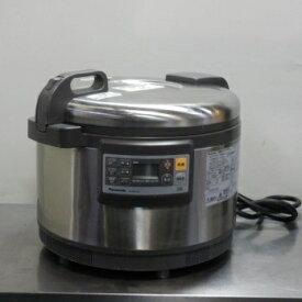 【中古】2014年製 パナソニック 業務用 IH ジャー 炊飯器 SR-PGB54P 3升 単相200V W502D429H300mm 重量16.2kg 傷あり