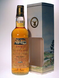 アードベッグ 1978-1999 スピリッツオブスコットランド 40% 700mlARDBEG 1978-1999 Spirit of Scotland 40% 70cl by Speymalt Whisky Dis.