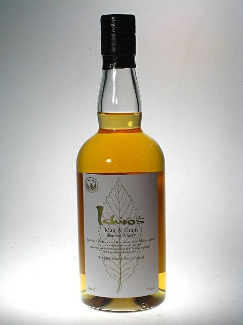イチローズ モルト&グレーン ホワイトラベルブレンデッドウイスキー 46% 700ml 秩父蒸溜所 ベンチャーウイスキー社 Ichiro's Malt&Grain Blended Whisky WHITE LABEL 46% 70cl CHICHIBU Distillery by Venture Whisky LTD.