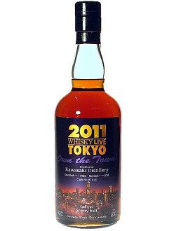 가와사키 1982 싱글 그레인 위스키 박쥐 65.5% 700ml 위스키 매거진 라이브 KAWASAKI 1982 Butt 65.5% 70cl single grain whisky Whisky Magazine Live2011 Official Commemorative Bottle